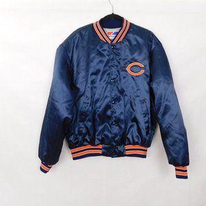 Vintage Swingster Chicago Bears Jacket XL Satin Coat